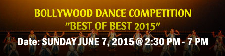 Bollywood Dance Competition 2015